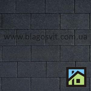 Висококласна традиційна бітумначерепиця IKO Armourglass Black01