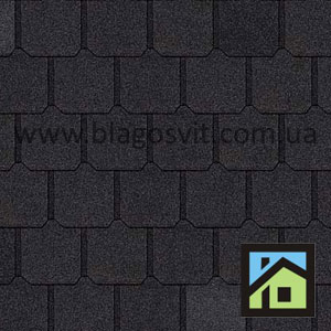 Битумная черепица Owens Corning BERKSHIRE AR Canterbury Black