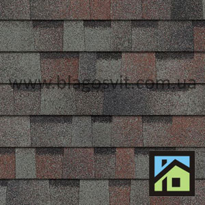 Битумная черепица Owens Corning DURATION AR Colonial Slate