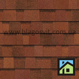 Битумная черепица Owens Corning DURATION AR Terra Cotta