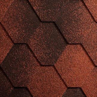 Бітумна черепиця Icopal Plano Antique Brick Red