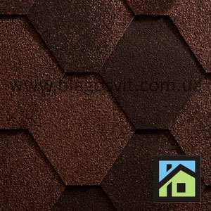 Битумная черепица Icopal Plano Antique Natural Brown