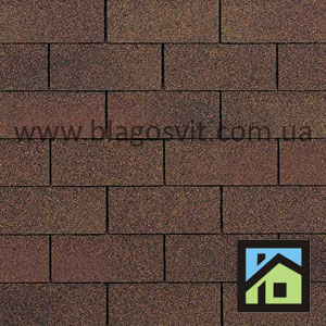 Бітумна черепиця Owens Corning Supreme AR Autumn Brown