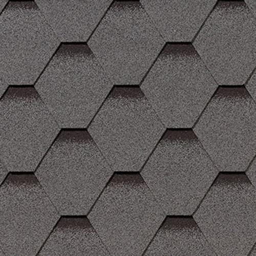 Битумная черепица RoofShield Premium Стандарт серый