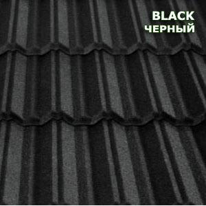 Композитная черепица Metrotile MetroClassic черный