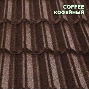 Композитна черепиця Metrotile MetroClassic кавовий