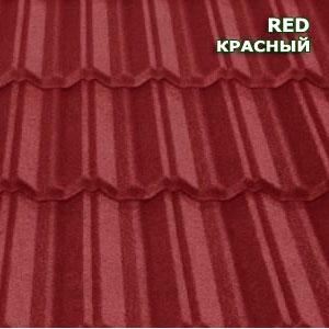 Композитная черепица Metrotile MetroClassic красный