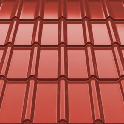 Металлочерепица Decorrey Ruukki 30 RR 29 красный