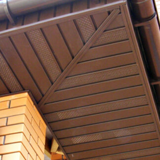 Сайдинг Royal soffit brown
