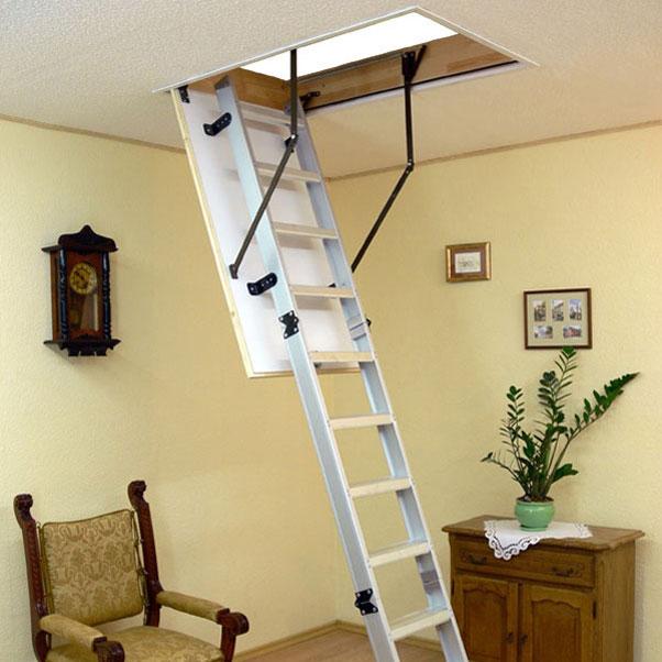 Горищні сходи OMAN Alu-Profi 120х60