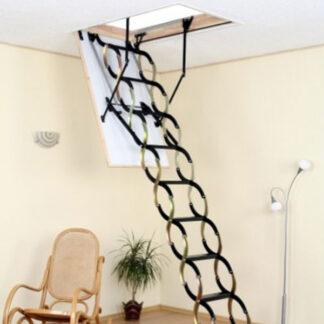 Чердачные лестницы OMAN Nozycowe Termo (NT) 120х70