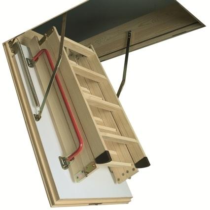 Чердачная лестница Fakro LTK Thermo 280 60х120