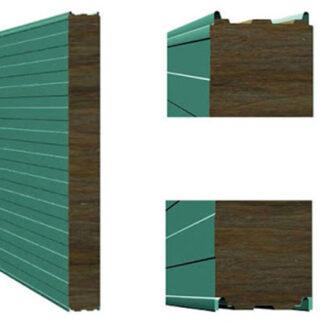 Стеновая сэндвич-панель с термозамком