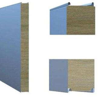 Стеновая сэндвич-панель с открытым типом замка