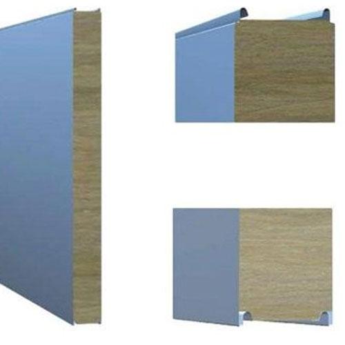 Стінова сендвіч-панель з відкритим типом замка