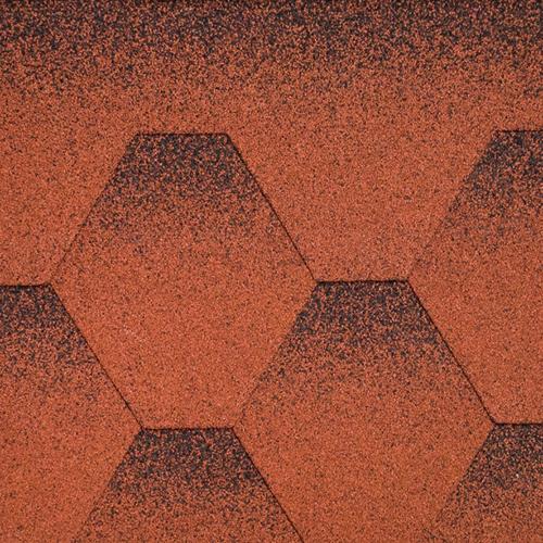 Бітумна черепиця Aquaizol Мозаїка Червоний мак