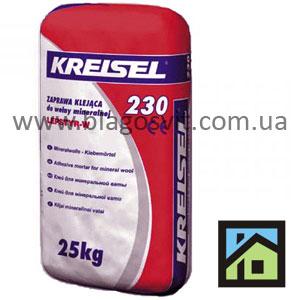 Клей для плитной минеральной ваты Kreisel 230