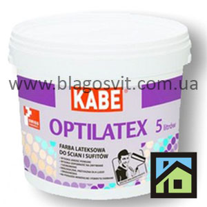 Интерьерная латексная краска KABE OPTILATEX