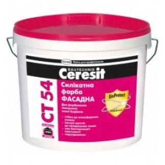 Фасадная силикатная краска Ceresit СТ 54