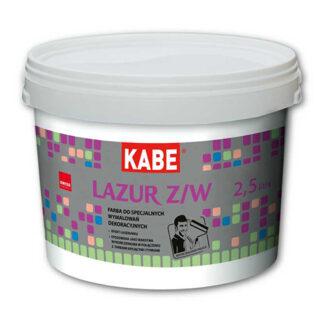 Интерьерная акриловая лессировочная краска KABE Lazur W