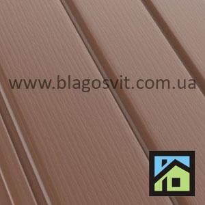 ПВХ софит BUDMAT светло-коричневый
