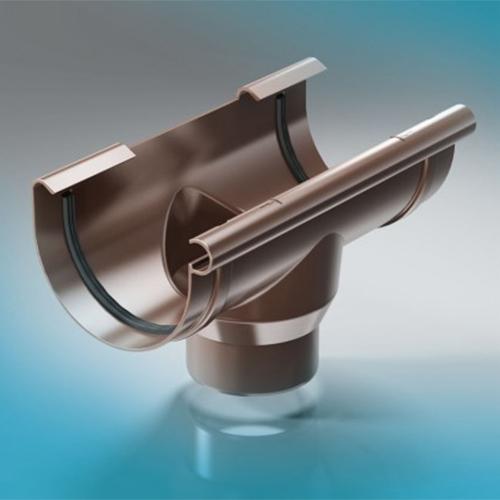ПВХ водосточная система ProAqua 125/90 воронка
