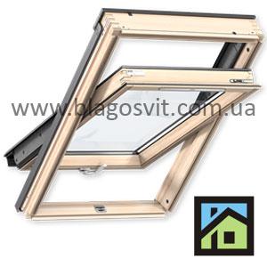 мансардное окно VELUX GZL 1051B МK10 78 x160 см