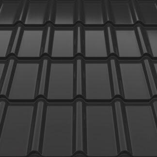 Металлочерепица Decorrey Ruukki 30 RR 2H3 серый графит