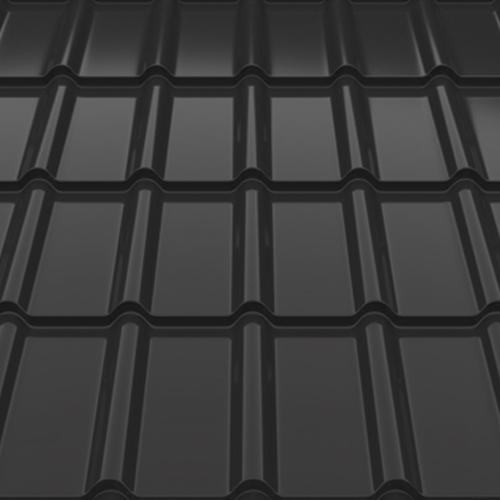 Металочерепиця Decorrey Ruukki 30 matt RR 2H3 сірий графіт