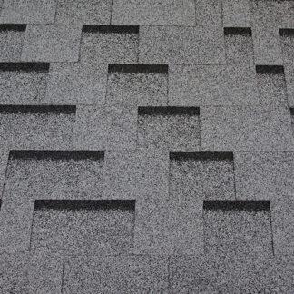 Битумная черепица RoofShield Family ECO Light Модерн серый с оттенением