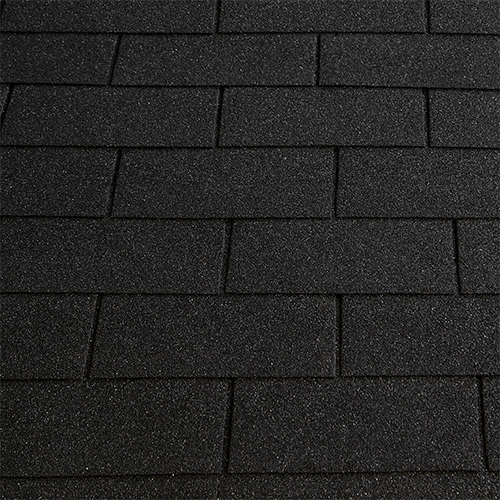 Битумная черепица RoofShield Family ECO Light Американ графитно-черный