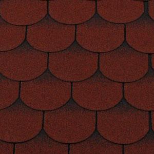 RoofShield Family ECO Light Готик красный с оттенением