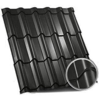 Металочерепиця Zartmet Jaspis (ArcelorMittal - Німеччина) 0.5 мм, РЕМА 9005 чорний