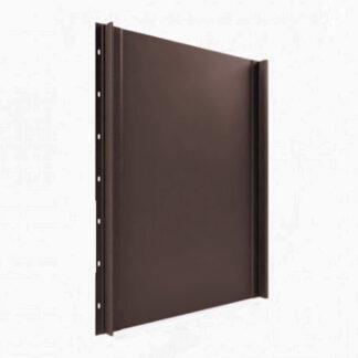 Фальцева покрівля Tile Класика матполіестер RAL 8019 темно-коричневий Німеччина