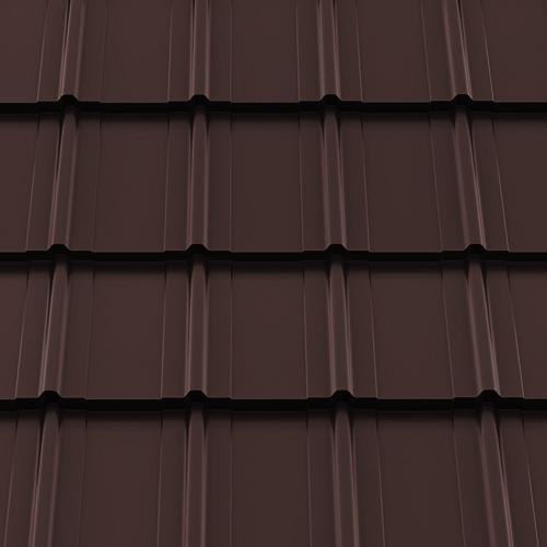 Металочерепиця Frigge Ruukki 30 RR 32 темно-коричневий