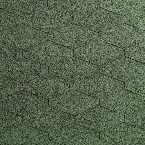 Битумная черепица IKO Diamant PLUS Amazon Green 03
